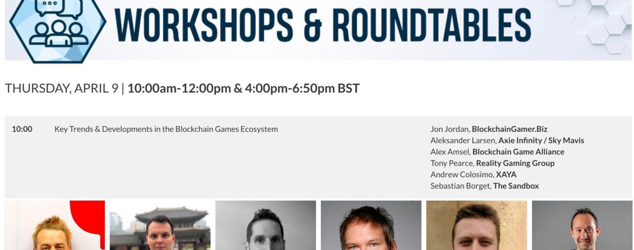 Workshops & Roundtables