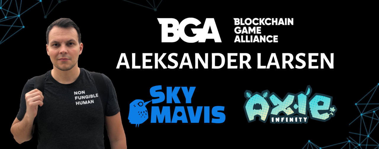 Blockchain Game Alliance welcomes new Secretary, Aleksander Larsen