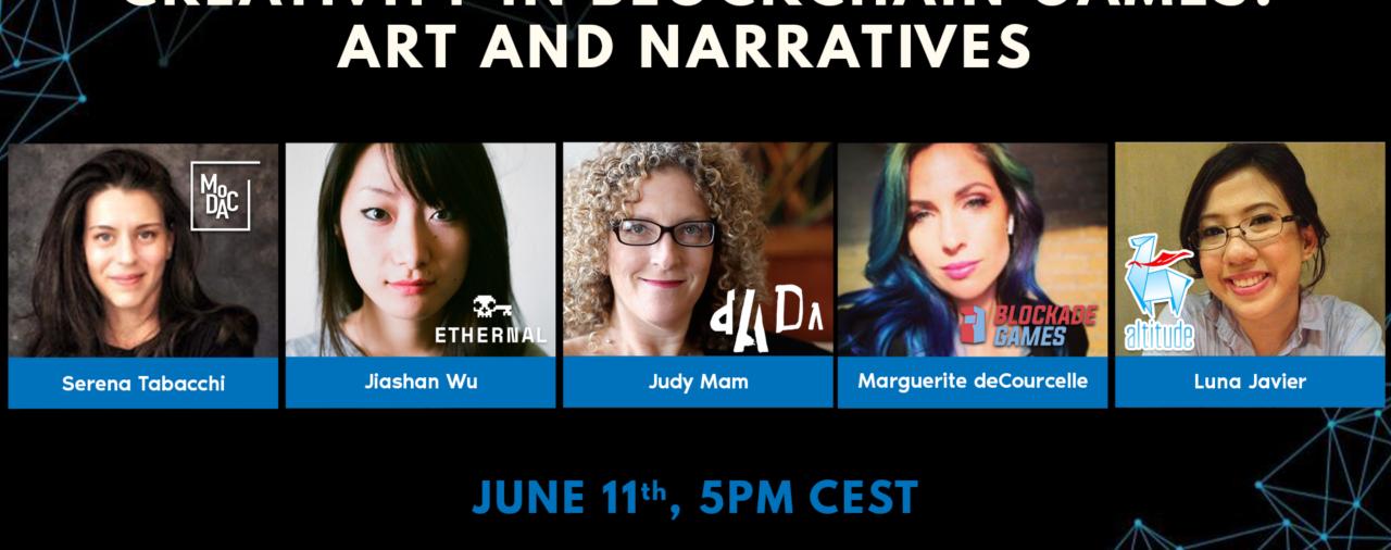 Creativity in Blockchain Games: Art and Narratives — Women Series — Part 2
