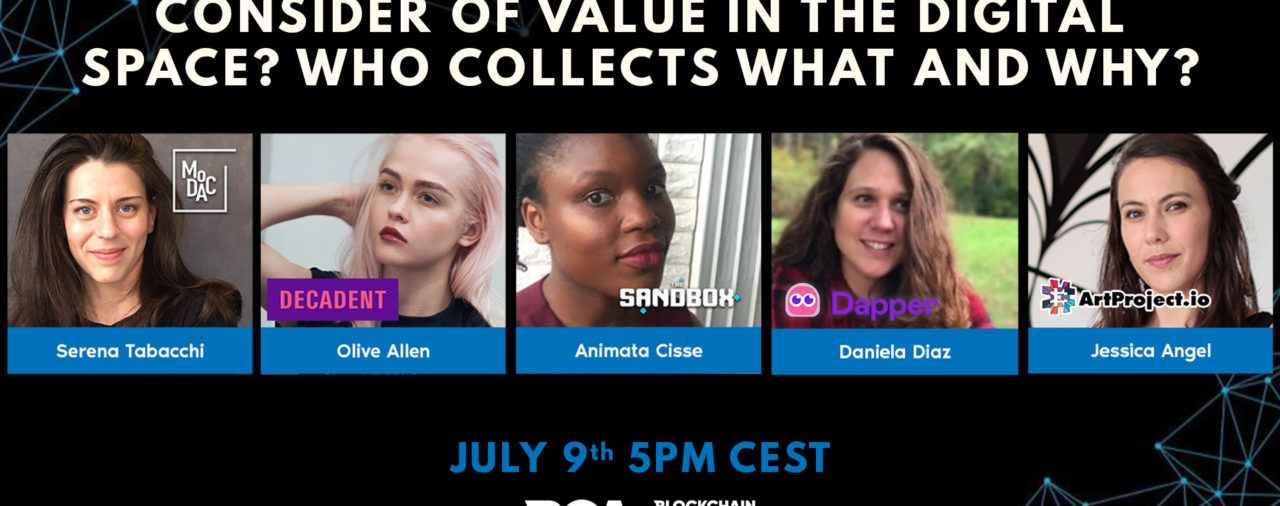 Collectibles in Gaming: What do we consider of value in the digital space? Who collects what and why? — Women Series — Part 5(July 9th, 5PM CEST)