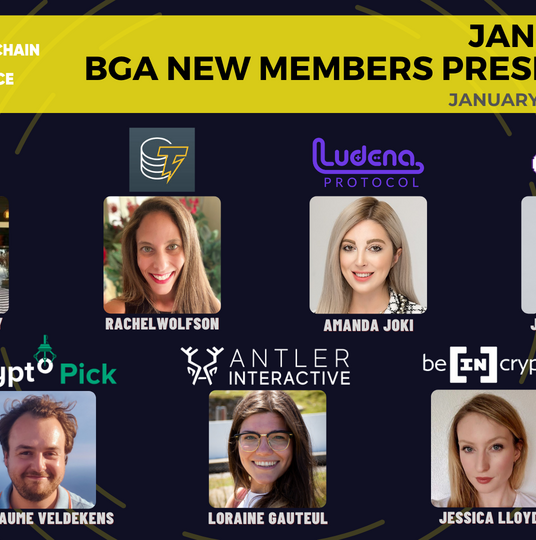 BGA January 2021 New Members Presentation