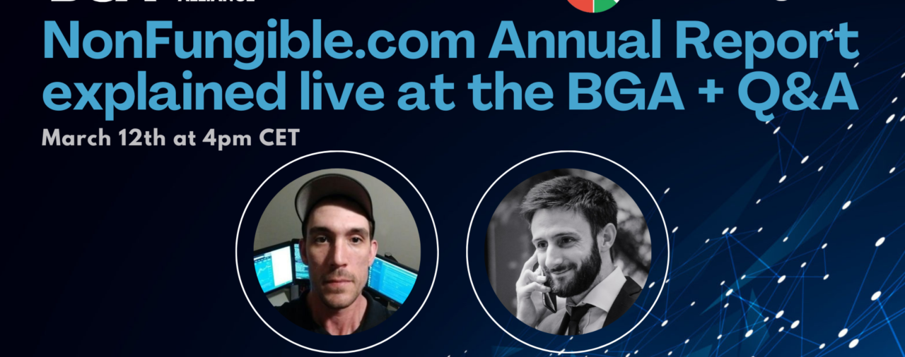 NonFungible.com Annual Report explained live + Q&A