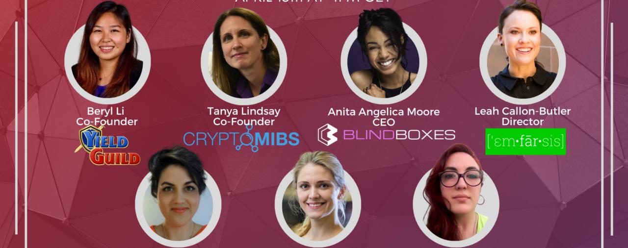 BGA X Women Founders & Play-To-Earn Games