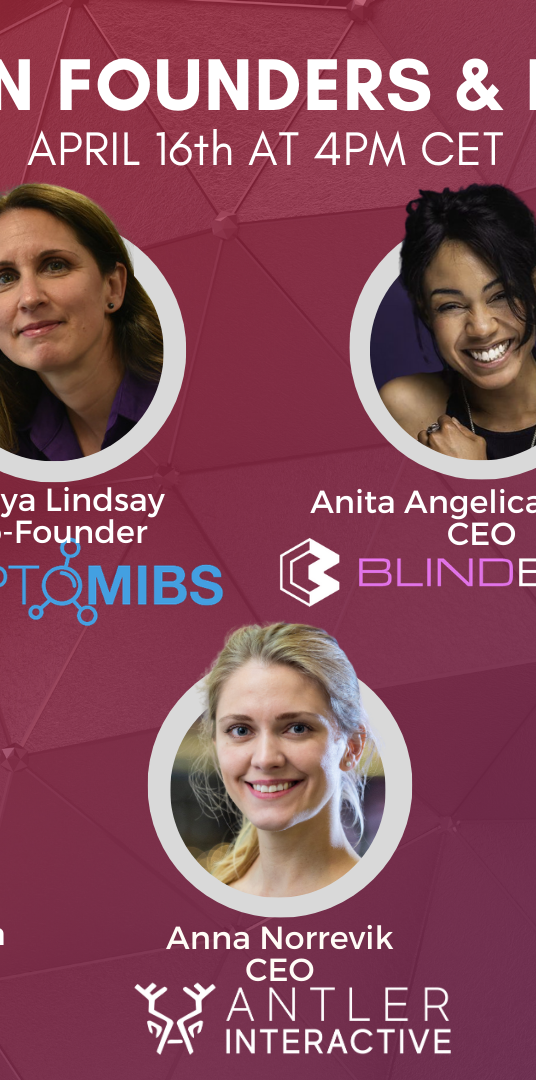 BGA X Women Founders & Play-To-Earn Games