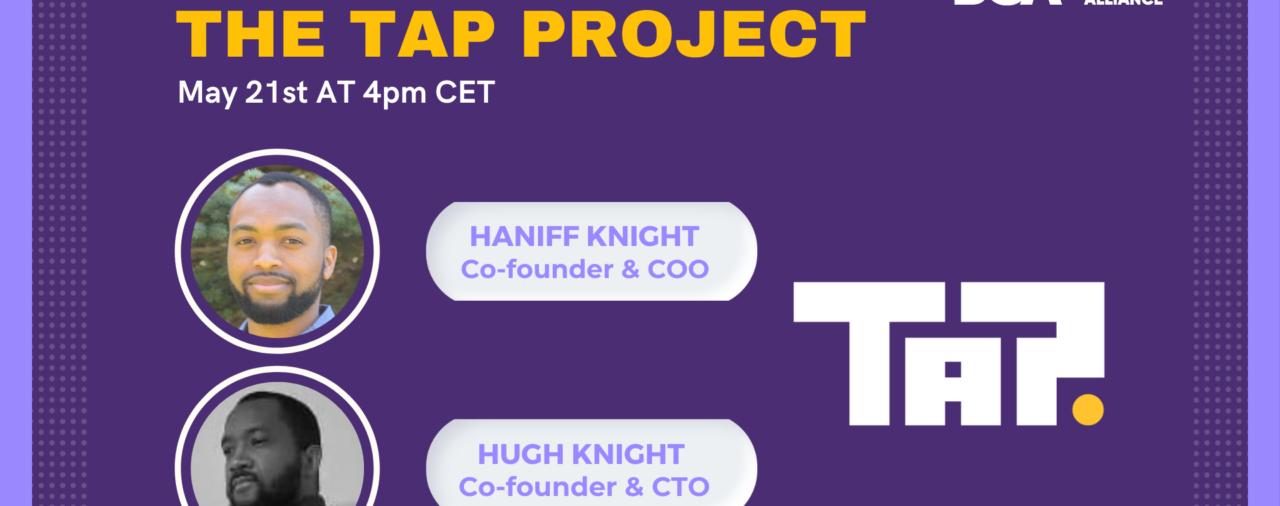 Gold Sponsor Presentation: Tap Project
