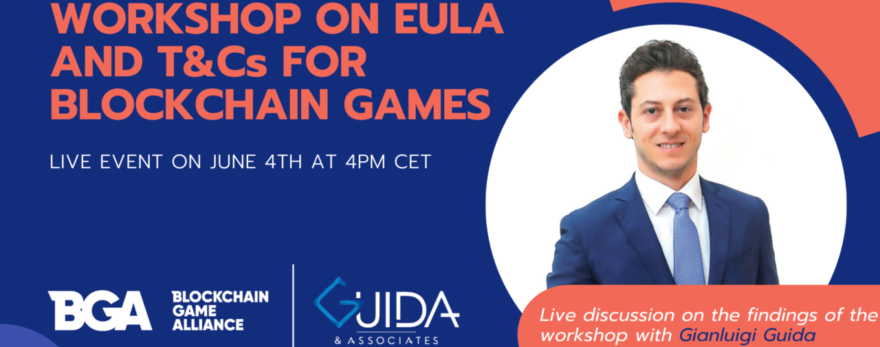 EULA and T&Cs for Blockchain Games