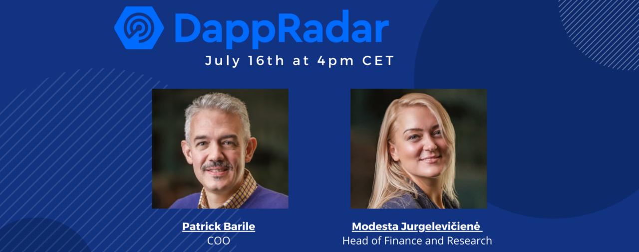 Live Valuation with DappRadar